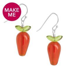 Make Me! Carrot Top Earrings | Fusion Beads