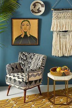 Handmade Home Decor Boho Living Room, Living Room Decor, Bedroom Decor, Bedroom Ideas, Dining Room, Retro Home Decor, 1950s Decor, Traditional Decor, Handmade Home Decor