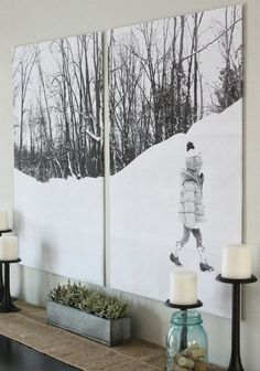 85 ideas of paintings for the interior with his own hands-23