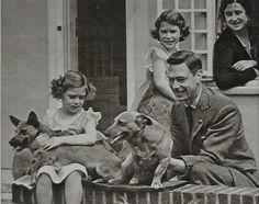 vintage dog photos corgi - Google Search