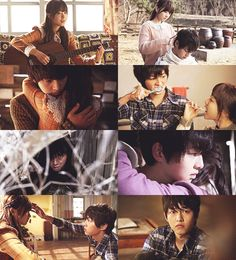 Thank you, my prince that I've dreamed of, for appearing before me. A Werewolf Boy, great great movie.