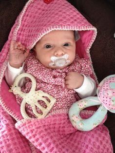 Hot pink Koeka baby
