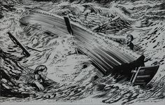 Zdeněk Burian / Z knihy Kletba zlata - detail aukce « Aukce . Detail, Abstract, Artwork, Summary, Work Of Art, Auguste Rodin Artwork, Artworks, Illustrators