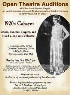http://southdevonplayers.weebly.com/1920s-cabaret-cast-research.html