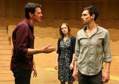Jason Butler Harner, Amanda Quaid and Cory Michael Smith in Cock