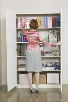 How to Organize an Office Supply Closet