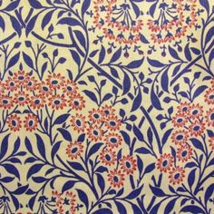 "William Morris' ""Michaelmas Daisy"" wallpaper LEE SIDE"