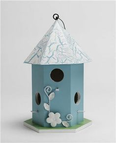 Bird houses we allways need. Takes little time to make & paint, or buy unfinished one. Spring is coming===susan jensen
