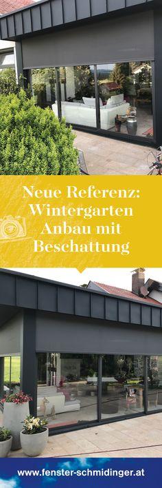 AuBergewohnlich Wintergarten Anbau Mit Einer Außenliegenden Beschattung. So Kann Der Sommer  Kommen!