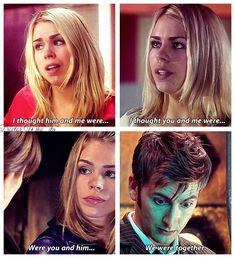 Rose & the Doctor, The Christmas Invasion, School Reunion, Turn Left, Smith and Jones Doctor Who Funny, Doctor Who Quotes, Doctor Who Tardis, 11th Doctor, Twelfth Doctor, Rose And The Doctor, Tv Doctors, Billie Piper, Torchwood