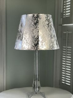 Mid Century Modern Lamp Shade, Metallic Lamp Shade, Silver Lamp Shade, Contemporary Lamp Shade, FREE SHIPPING-Continental USA Contemporary Lamp Shades, Modern Lamp Shades, French Lamp Shades, Country Lamps, Shabby Chic Lamps, Mid Century Modern Lamps, Silver Lamp, Lamp Bases, Mid-century Modern