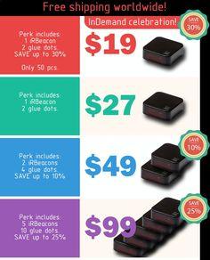 iRBeacon - smarter remote for a smarter home | Indiegogo
