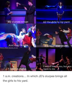 I mean it kinda did I'm in your yard I'm a dead girl walking - Genius Meme - The post I mean it kinda did I'm in your yard I'm a dead girl walking appeared first on Gag Dad. Theatre Nerds, Musical Theatre, Dear Evan Hansen, Les Miserables, Mean Girls, Shut Up, In This World, Songs, Heathers The Musical Funny