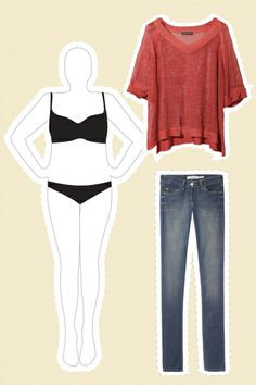 The Most Flattering Fashion For YOUR Figure #refinery29
