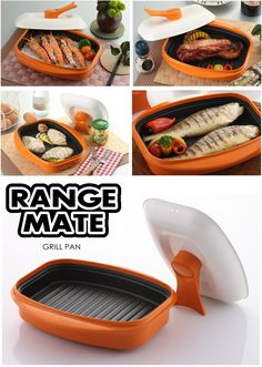 Rangemate Grill Pan Let You Saute Bake And Steam Keeping The Natural Nutrientoister Fresh Or Frozen Foods In Just Minutes Using