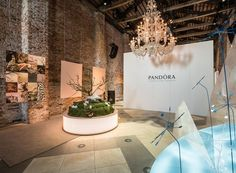 Design inspiration area at Belmond Hotel Cipriani, Venice. #PANDORApreviewAW