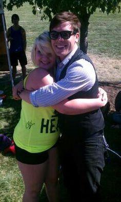 Cody Carson and I. Warped 2013!