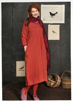 """Kleid """"Shadow"""" aus Baumwolle/Viskose 57705-33.jpg"""