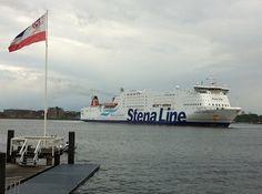Stena Line auf der Kieler Förde