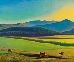 Rockwell Kent | Rockwell Kent - Sotheby's. M - Chatfield Botanic Gardens. A gorgeous and  idealistic vision of the American heartland. Note by Roger Carrier