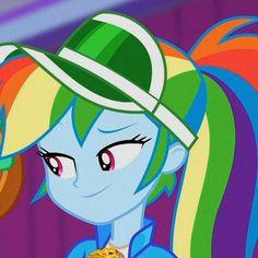 Rainbow Dash, Equestria Girls, My Little Pony, Animation, Matching Icons, Wallpaper, Disney Characters, Random Stuff, Gay