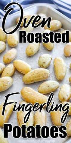Crisp and salty on the outside with fluffy baked potato inside, these Roasted Fingerling Potatoes are a great way to change up the average weeknight meal. Ranch Dip, Vegetable Side Dishes, Vegetable Recipes, Chipotle, Garlic Dipping Sauces, My Favorite Food, Favorite Recipes, Barefeet In The Kitchen, Roasted Fingerling Potatoes