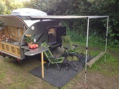 Tiny Yellow Teardrop: Featured Teardrop: O-rama! Teardrop Trailers