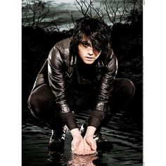 fuckyeahgerardway! ❤ liked on Polyvore featuring bands, my chemical romance, people and gerard