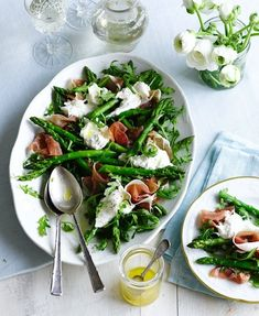 Asparagus, Burrata & Prosciutto Salad - Good Housekeeping