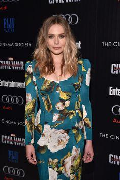 3068d49d21cf5b Elizabeth Olsen attends the screening of Marvel's