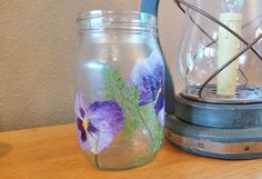 Make Your Own Pressed Flower Vase : Factory Direct Craft Blog