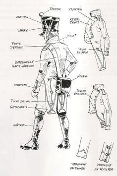 Uniforme della fanteria francese