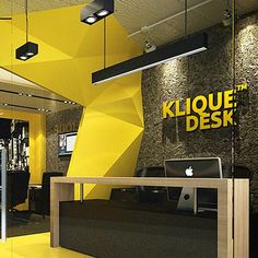 Office interior design you must know for best coolest working 63 Corporate Office Design, Office Space Design, Corporate Interiors, Gym Design, Office Interiors, Wall Design, Retail Design, Design Ideas, Design Case