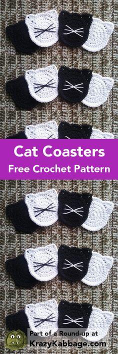 44ce372f070a8 Cat Crazy Free Crochet Patterns – Krazykabbage  crochet  freepattern  cat   craft