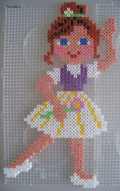 sandylandya@outlook.es  Ballerina Bügelperlen perler hama beads