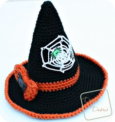 Witch Hat crochet pattern by Divinedebris.com