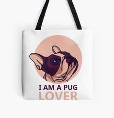 """""""pug lover"""" Sticker by kings24 