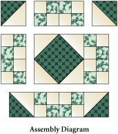 Pattern: Irish Chain variation