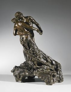 Camille Claudel French sculptor, December 8 1864 - October 19 1943 'La Valse' (The Walz), 1889 inspired by her love affaire with sculptor Auguste Rodin Camille Claudel, Auguste Rodin, Musée Rodin, Catalogue Raisonne, Principles Of Art, Bronze, Sculpture Clay, Renaissance Art, Animal Tattoos