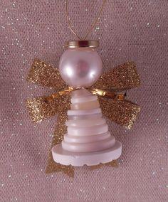 AngelNik de Kathy Diseños e Ideas de Proyectos de arte: Botón de los ángeles