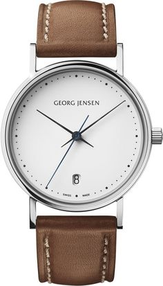 Georg Jensen Watch Koppel #bezel-fixed #bracelet-strap-leather #brand-georg-jensen #case-depth-8-4mm #case-material-steel #case-width-32mm #date-yes #delivery-timescale-call-us #dial-colour-white #gender-ladies #luxury #movement-quartz-battery #official-stockist-for-georg-jensen-watches #packaging-georg-jensen-watch-packaging #style-dress #subcat-koppel #supplier-model-no-3575540 #warranty-georg-jensen-official-2-year-guarantee #water-resistant-30m