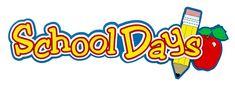 Paper Wizard - School Days Collection - Die Cuts - School Days Title at Scrapbook.com