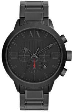 Armani Exchange Mens Black Metal Bracelet Watch A|X Armani Exchange,http://www.amazon.com/dp/B00CHWF78Y/ref=cm_sw_r_pi_dp_01gzsb02B7H4F10G