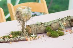 Bask in the magic of this ritualistic woodland fae wedding