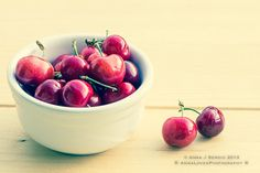 Cherries photography - rustic shabby chic summer wall decor - ideal for kitchen, restaurant, loft or studio walls $15.00
