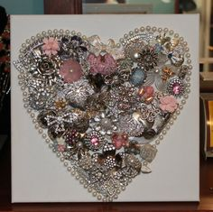 Rhinestone costume Jewelry Romantic by DiscoverAgainJewelry, $75.00