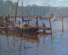 David Lussier from New England and a MAPAPA Member… Great sense of style with loose yet precise brush work