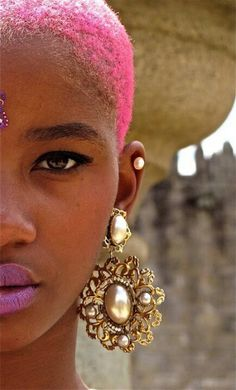 Pink Teeny Weeny Afro