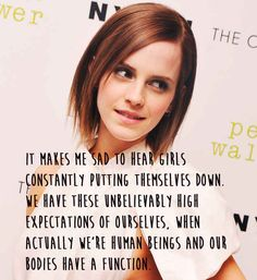 And this is exactly why we love her. | 21 Amazing Emma Watson Quotes That Every Girl Should Live Their Life By