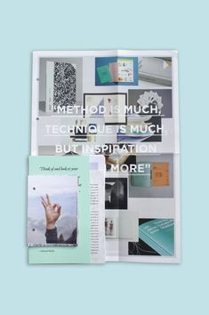 Influence on the Behance Network #inspiration #binding #quote #format #design #graphic #book #publication #passport #type #layout #editorial #typography